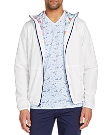 Men's Slim-Fit Water Repellent Stormy Day Windbreaker Jacket