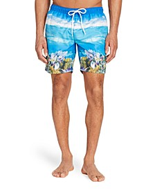 "Men's Standard-Fit 7.5"" Scuba Swim Trunks"
