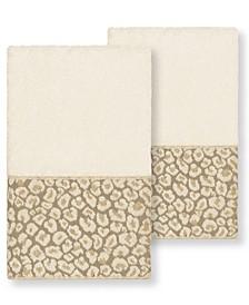 Spots 2 Piece Hand Towel Set