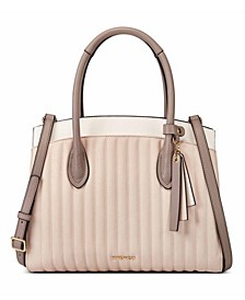 Charlize Triple Compartment Satchel