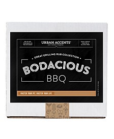 Bodacious BBQ Gourmet Grilling Rub Collection Gift Set