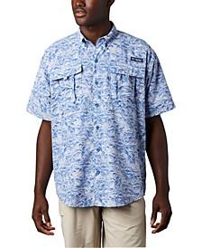 Men's Big & Tall Super Bahama Short-Sleeve Shirt