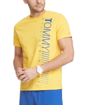 Tommy Hilfiger Men's Hoffman Performance Logo T-Shirt