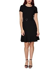 Stretch A-Line Dress