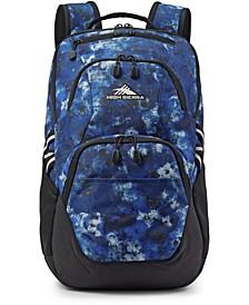 Printed Swoop Backpack