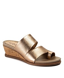 Whitley Casual Wedge Sandals