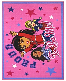 "Dora Proud To Be Me 19"" x 29"" Area Rug"