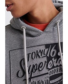 Men's Brand Language Hooded Sweatshirt