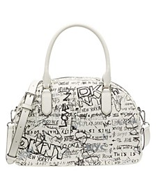 Erin Graffiti Dome Satchel