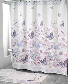 In The Garden Shower Curtain Collection