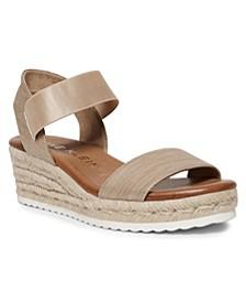 Cara Wedge Sandals
