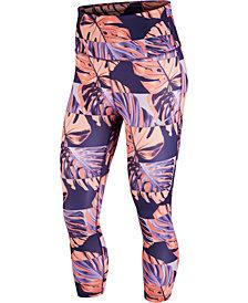 Nike Women's Dri-FIT Printed Cropped Leggings
