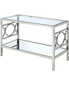 Beller Chrome Console Table