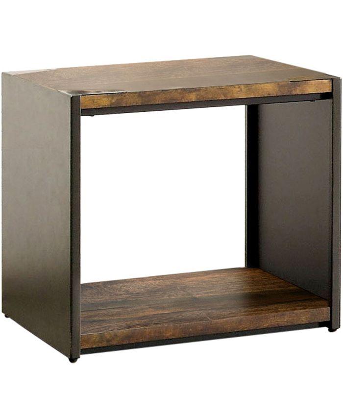 Furniture of America - Jasmina End Table, Quick Ship
