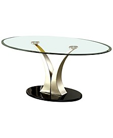 Mansa Glass Top Coffee Table