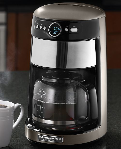 KitchenAid KCM1402ACS Architect 14 Cup Coffee Maker, Created ...