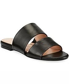 Siamese Banded Slide Sandals