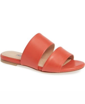 Siamese Banded Slide Sandals Women's Shoes