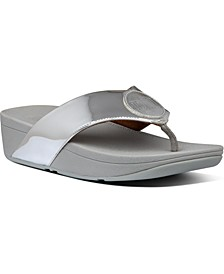Demelza Logo Toe-Thong Sandals