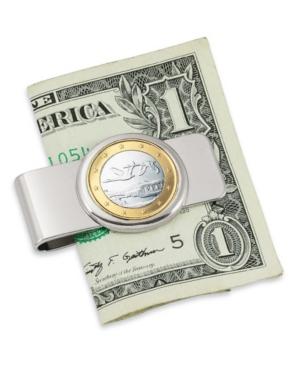 Finland Swan One Euro Coin Money Clip