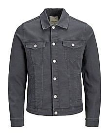 Men's Colored Denim Trucker Jacket