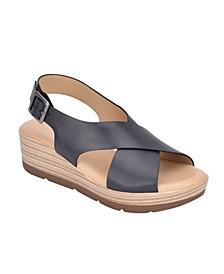 Kamila Wedge Sandals