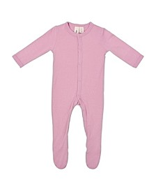 Baby Boy and Girl Footie with Snap Closure