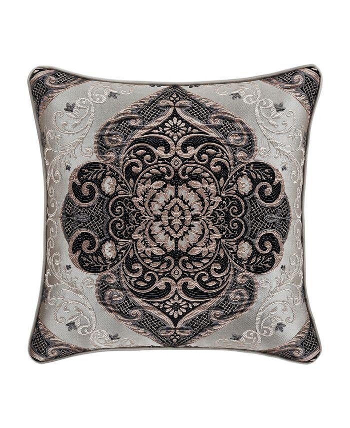 "J Queen New York - Jqueen Desiree  18"" Square Decorative Throw Pillow"