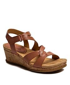 Freesia Wedge Sandals