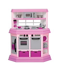 Kids Pink First Very Own Custom Kitchen Role Play Toy Set