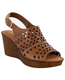 Deb-Italy Women's Wedge Sandals