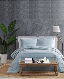 Tufted Stonewash King Duvet Set