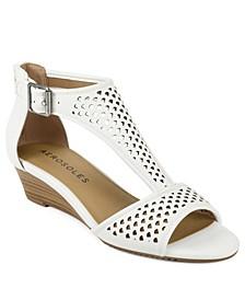 Sapphire Low Wedge Sandal