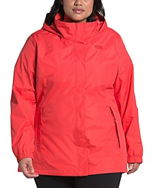 Plus Size Resolve Hooded Jacket