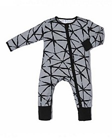 Baby Boys Bamboo Triangle 2 Way Zippy Coverall