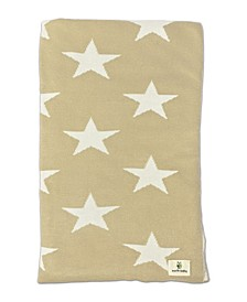 Baby Boys and Girls Rayon from Bamboo Knit Star Blanket