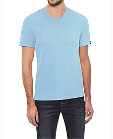 Men's Soft Stretch V-Neck T-Shirt
