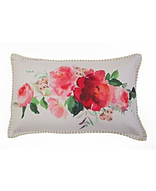 12x20 Rena Watercolor Floral Pillow