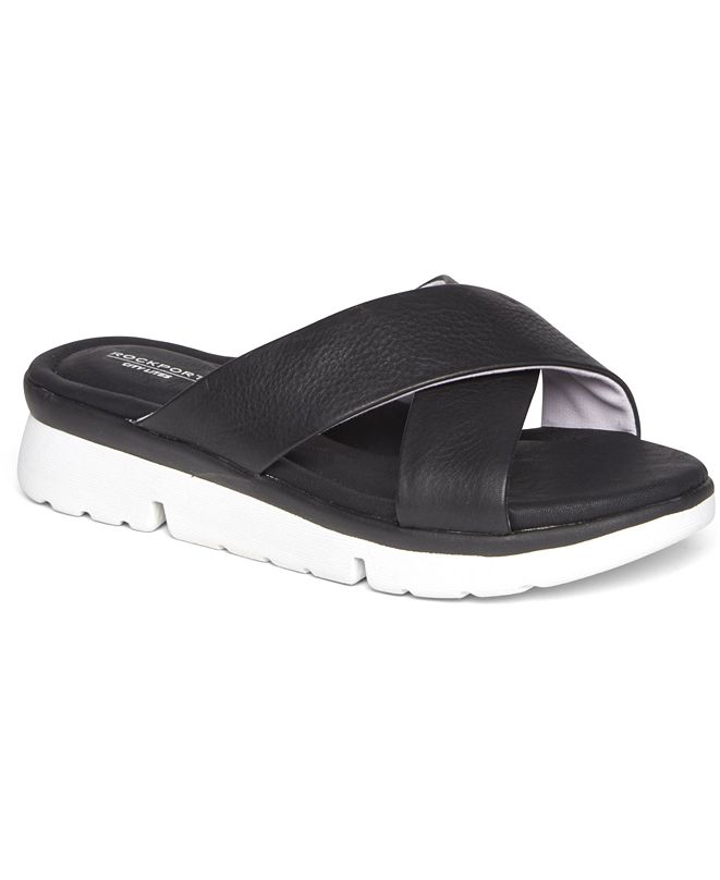 Rockport Women's R-Evolution X-Band Slide Sandals