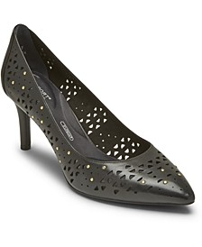 Women's Total Motion Perforated Stud Pumps