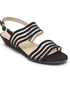 Women's Total Motion Zandra Mesh Strappy Sandals