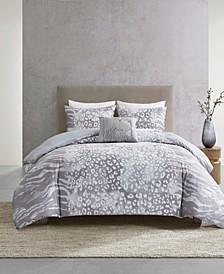 Dohwa 3 Piece Comforter Set - King/California King
