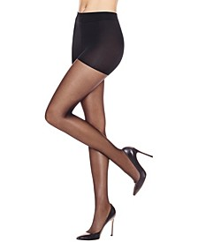 Leg Boost Energizing Control Top Sheer Pantyhose