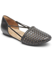 Women's Reagan Perforated Flats