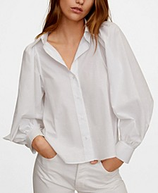 Puffed Sleeves Shirt