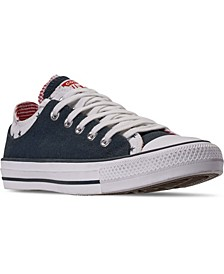 Women's Chuck Taylor All Star Double Upper Stars Casual Sneakers from Finish Line