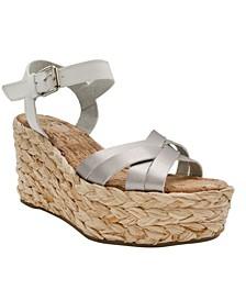 Women's Happy Platform Wedge Sandals