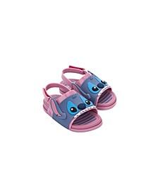 Toddler Girls Beach Slide Stitch Sandal