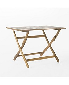 Positano Outdoor Foldable Dining Table