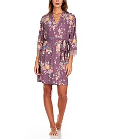Arlene Printed Knit Cover-up